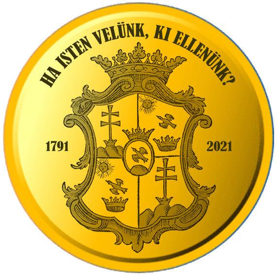 Széchenyi érme hátoldal